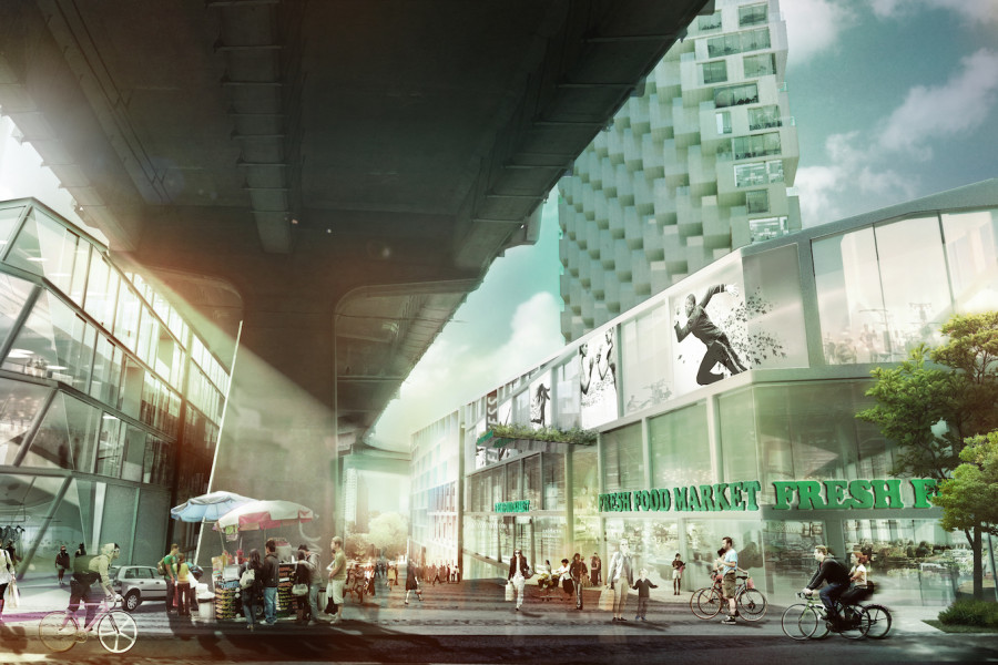 Rendering_CONTINENTAL STREET