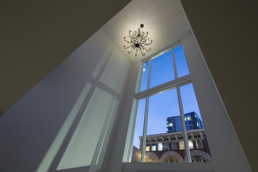 Artemisia interior vault chandelier