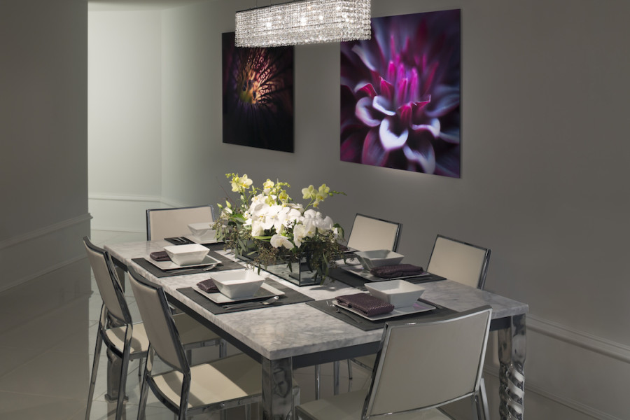 Artemisia townhome dining